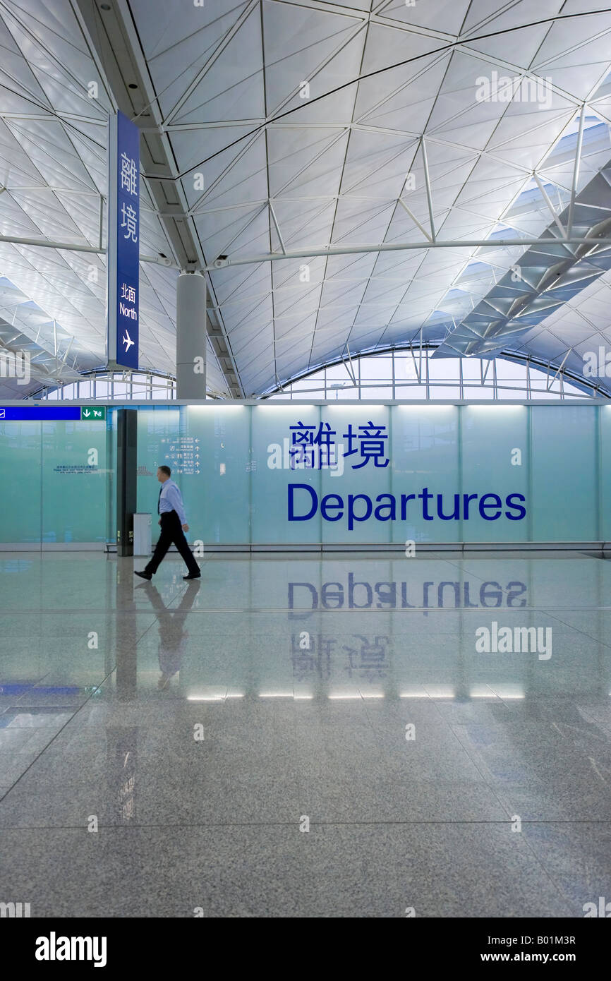 Hong Kong Chek Lap Kok International Airport Hong Kong China - Stock Image
