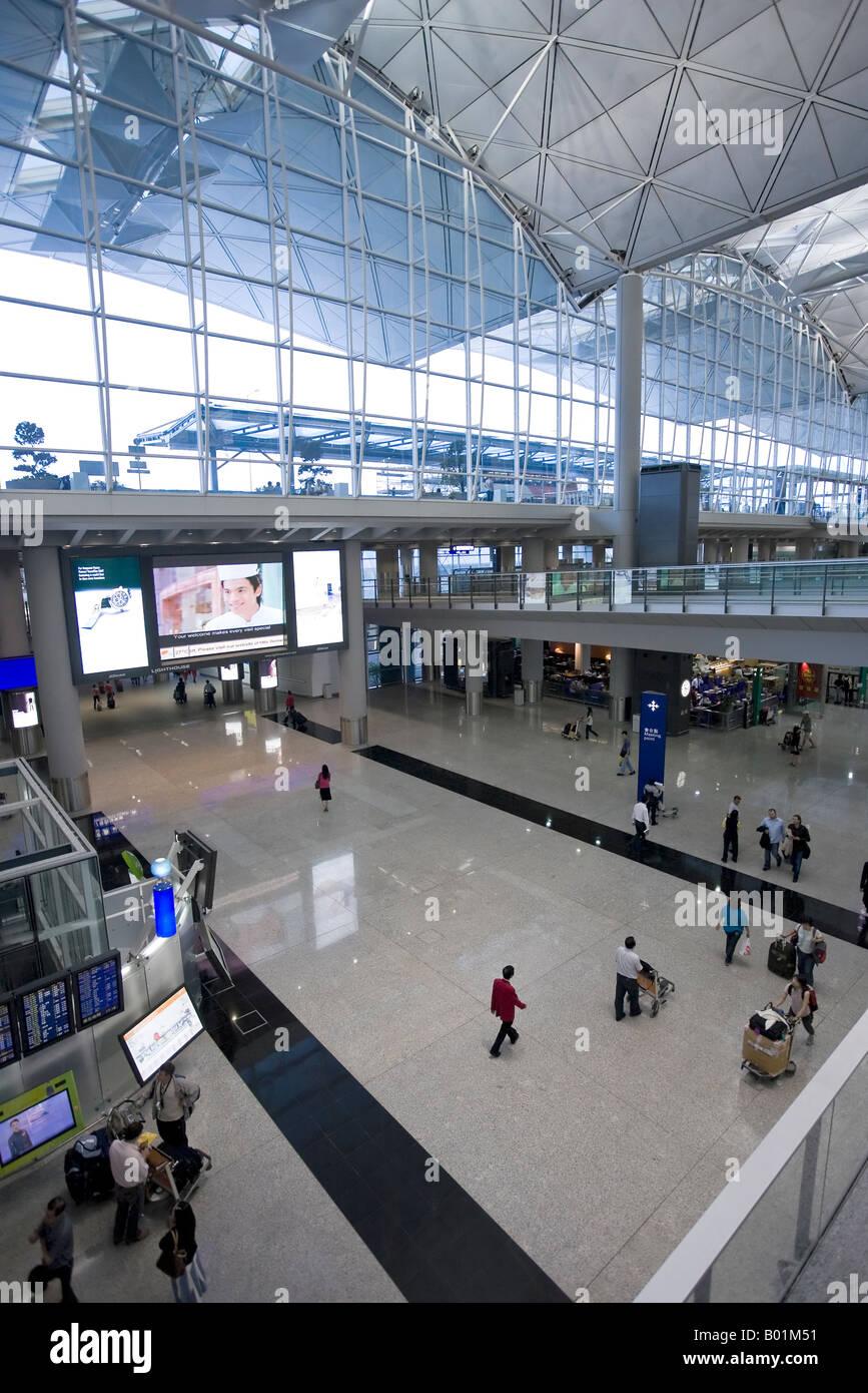 Hong Kong Chek Lap Kok International Airport Hong Kong China - Stock Image
