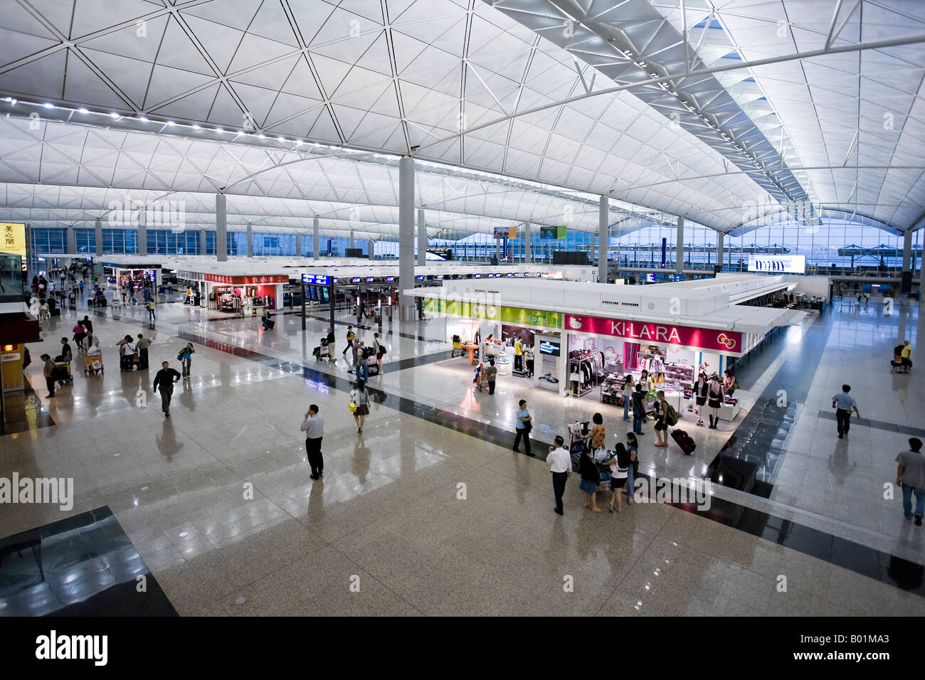 Hong Kong Chek Lap Kok International Airport Hong Kong China Stock Photo