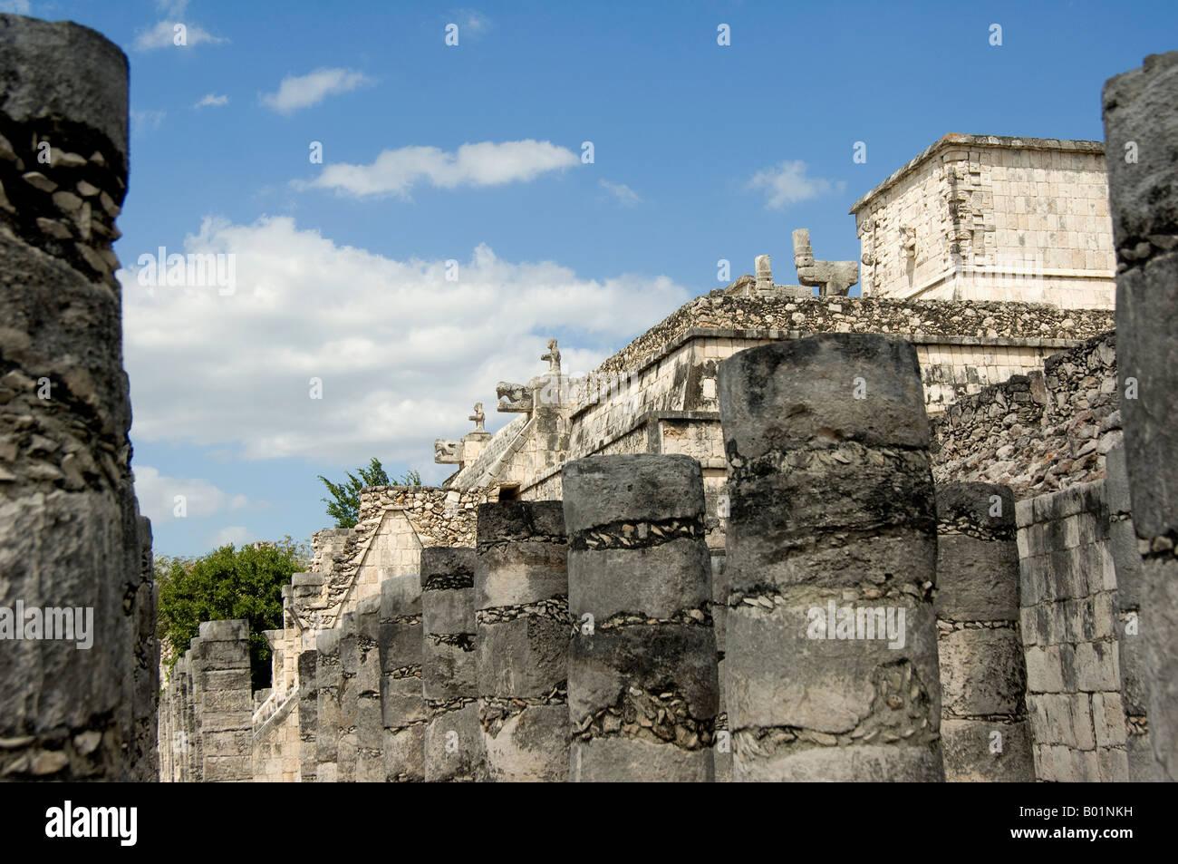 Chichen Itza, Maya Ruins, Yucatan Stock Photo