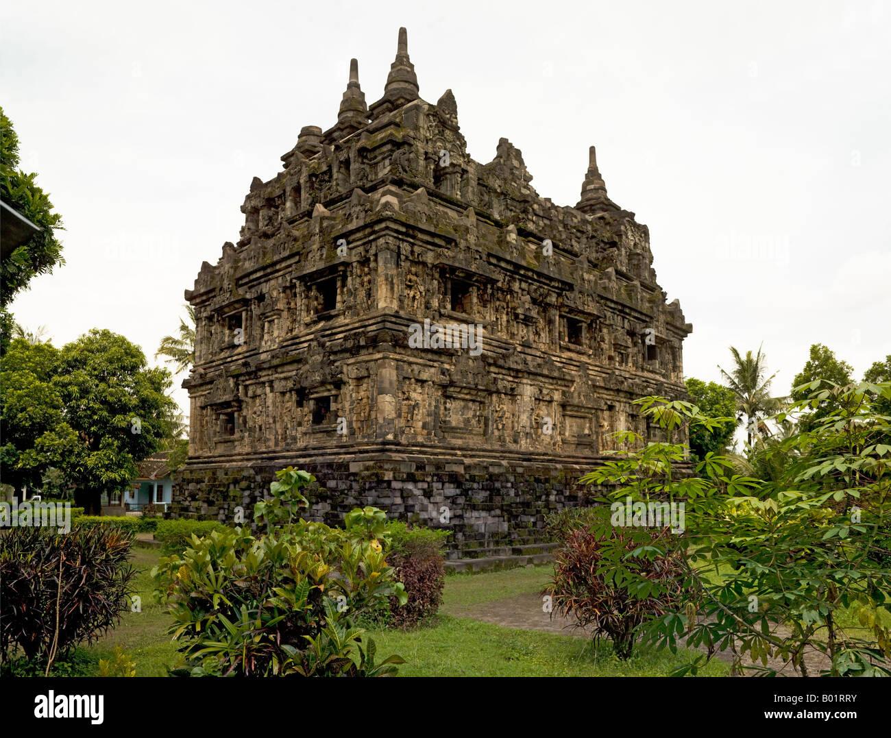 Candi Sari, Prambanam, Java, Indonesia Stock Photo
