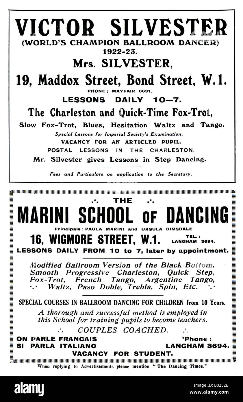 Silvester Black And White Stock Photos Images Alamy Waltz Dance Steps Diagram 1920s Advertisement For The Victor Dancing School Marini Of 1927