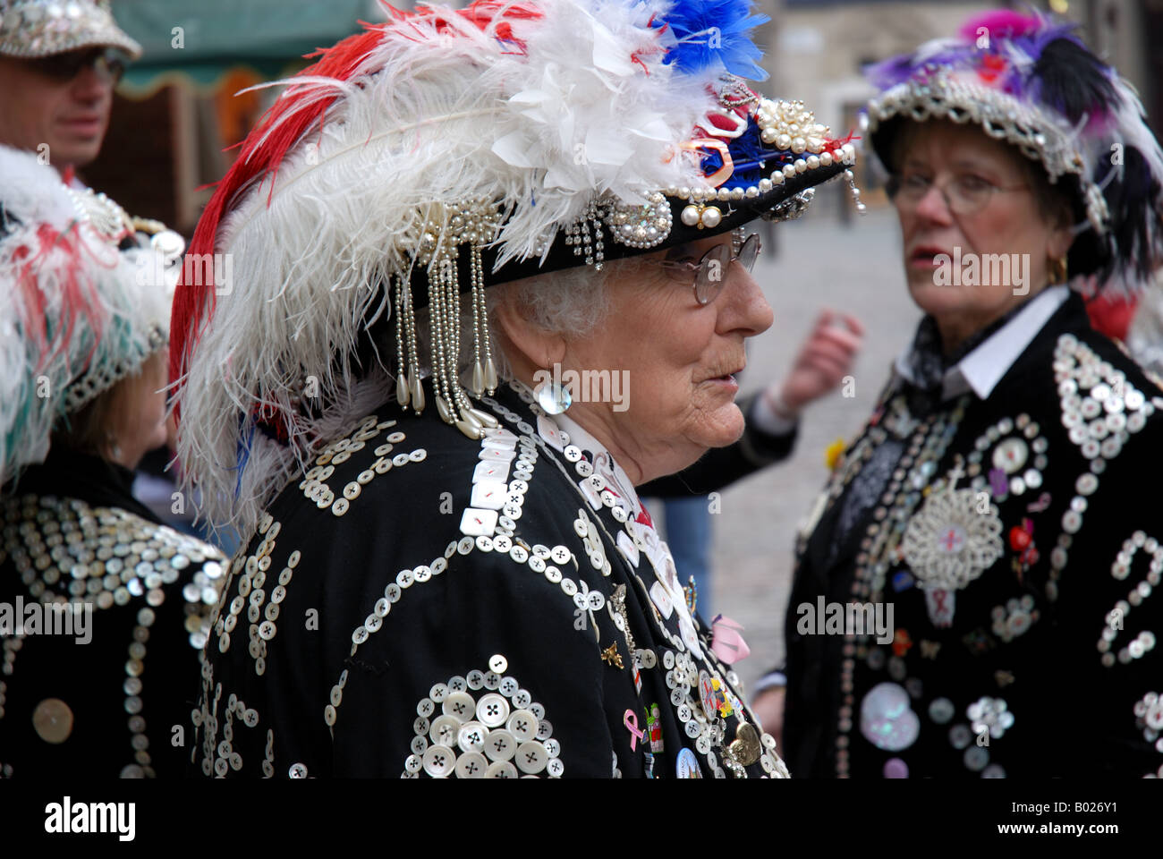 Pearly Queens - Stock Image