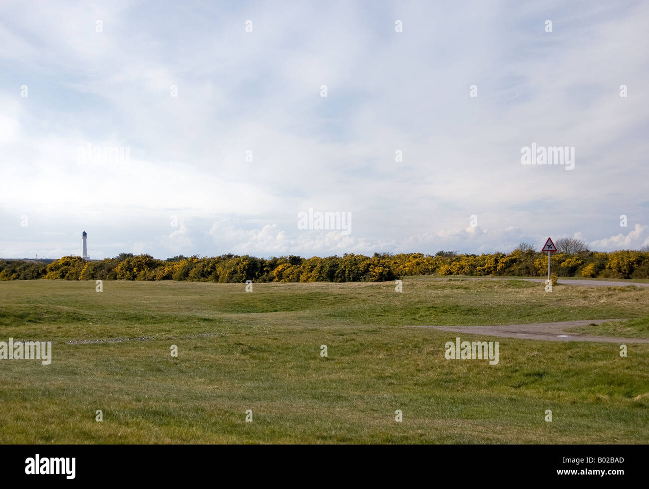 Lossiemouth Golf Course - Stock Image