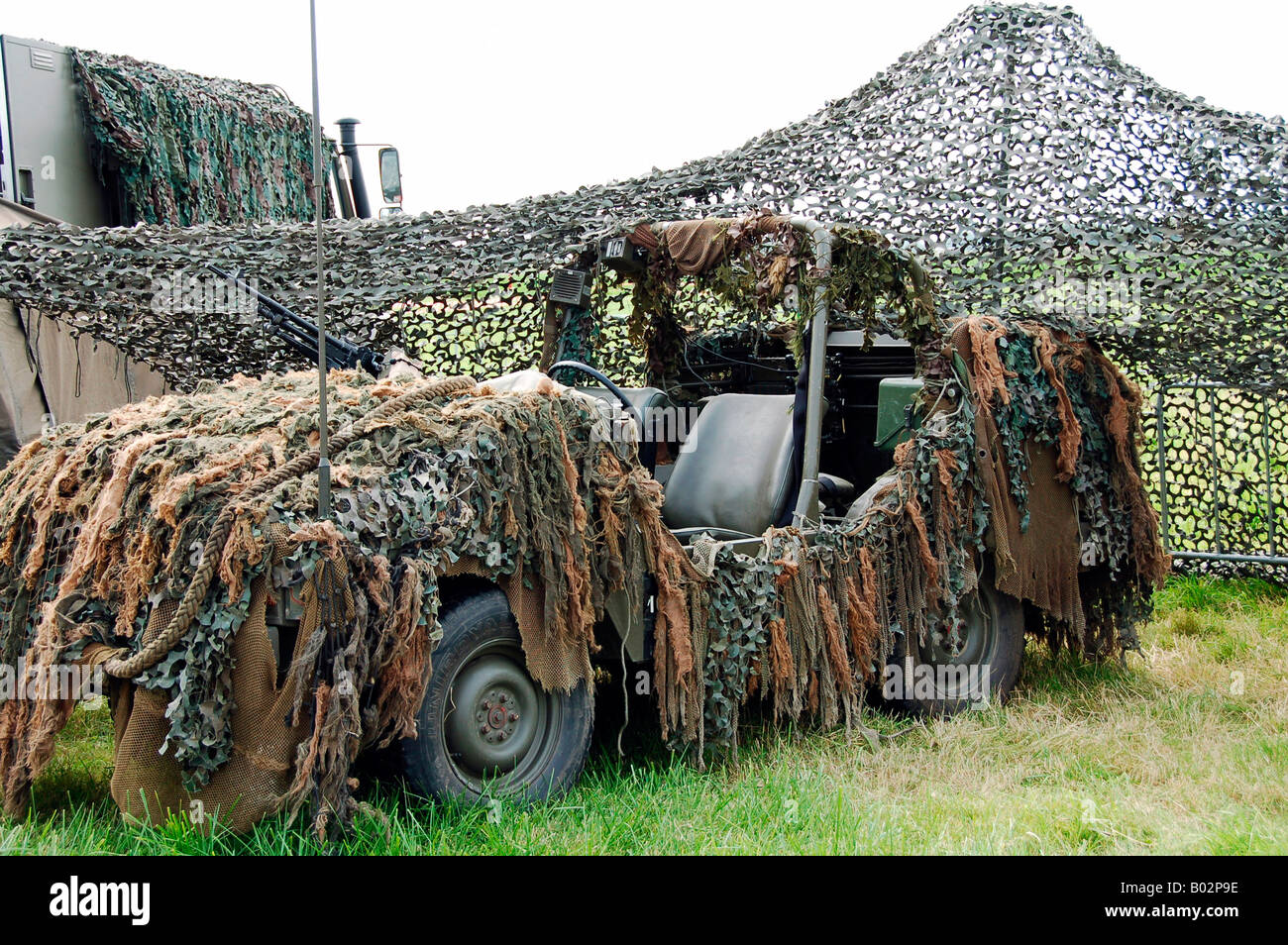 VW Iltis of the Special Forces Group of the Belgian Army. - Stock Image