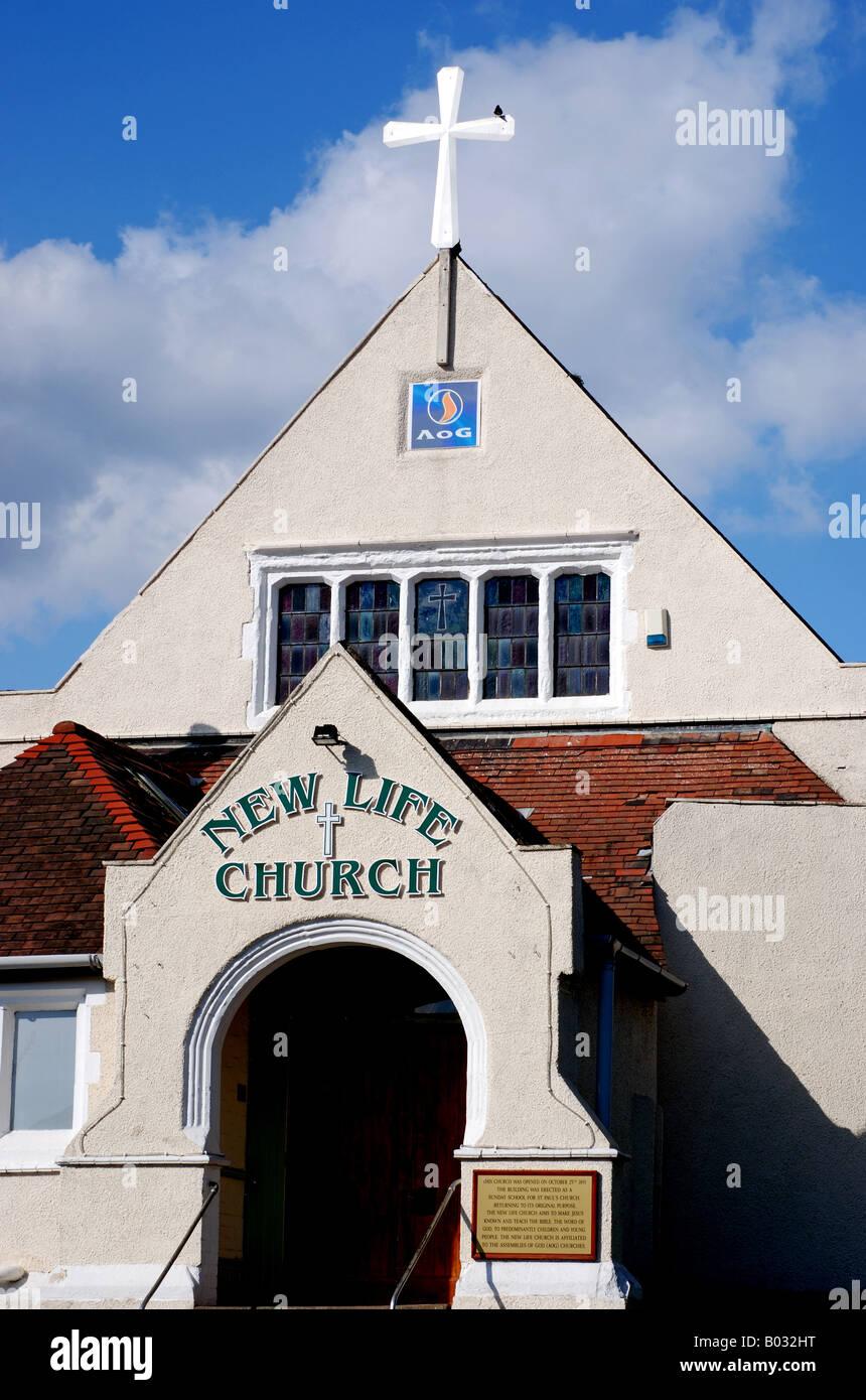New Life Church, Assemblies of God, Warwick, Warwickshire, England, UK - Stock Image