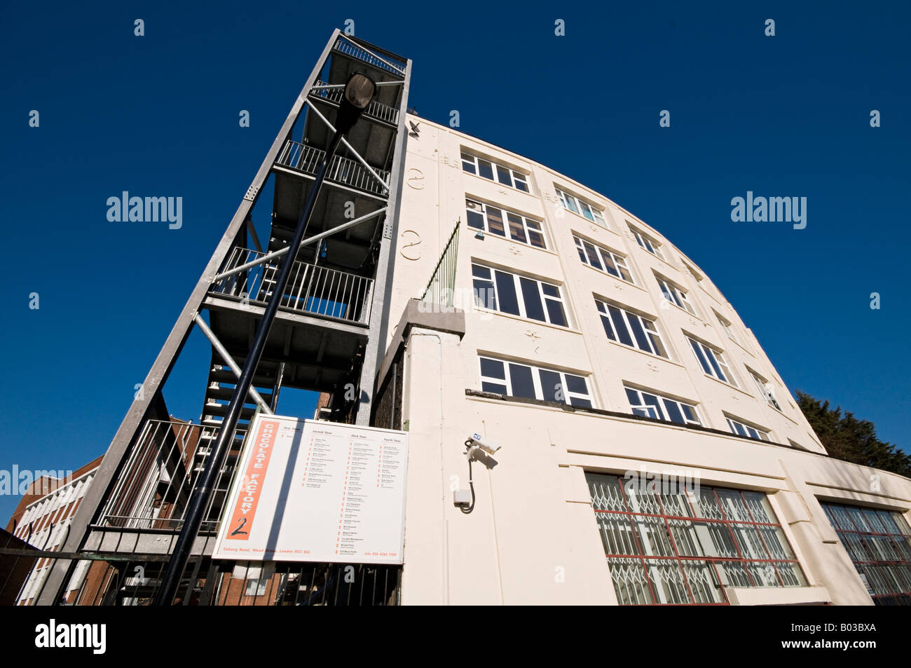The Chocolate Factory Number 2 Wood Green London Stock Photo