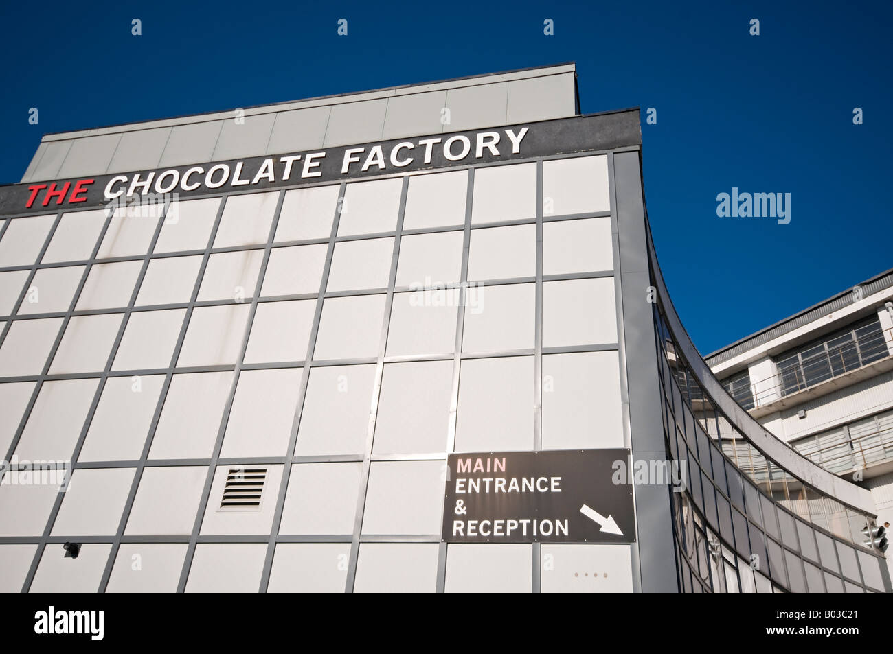 The Chocolate Factory Wood Green London Stock Photo