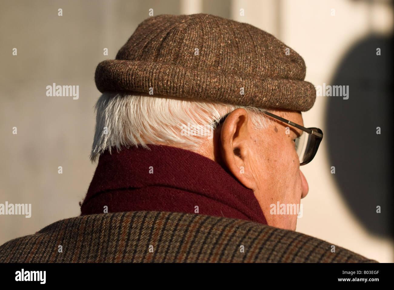 Man, London - Stock Image
