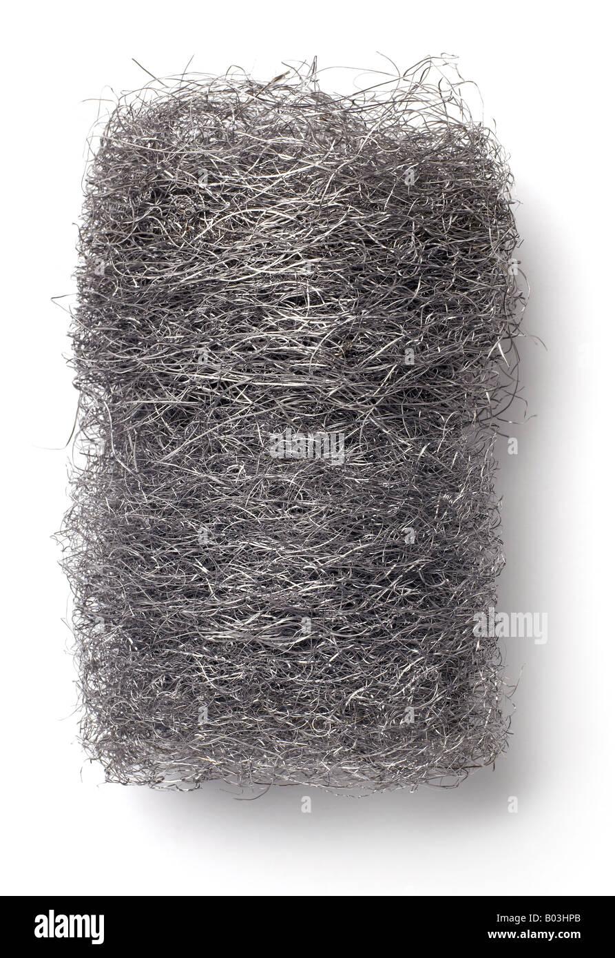 Steel Wool Stock Photo