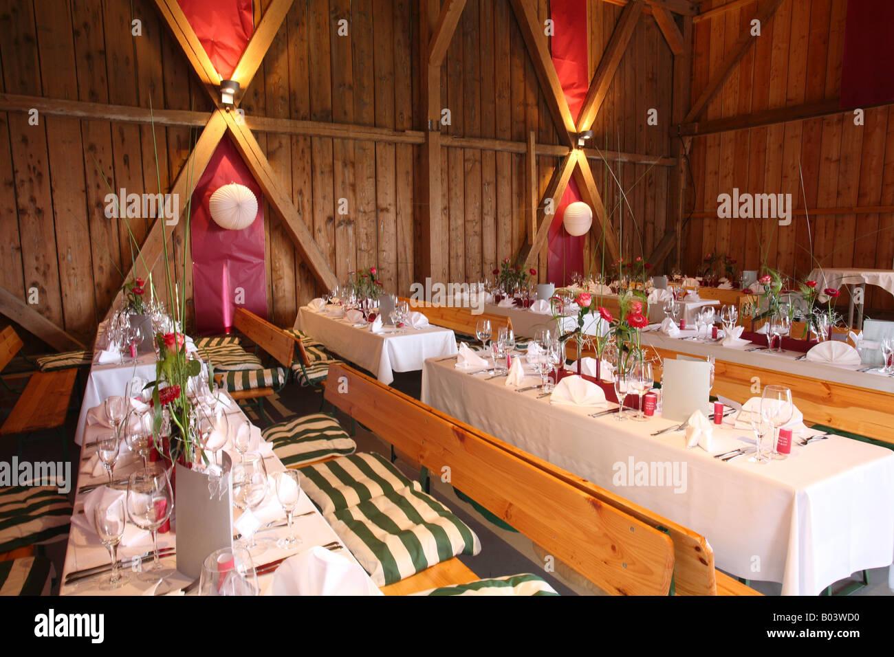 Hochzeit Tischdekoration Baden Wurttemberg Deutschland Wedding Table