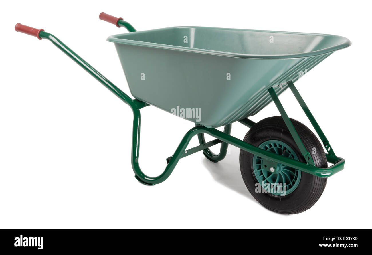 Wheelbarrow - Stock Image