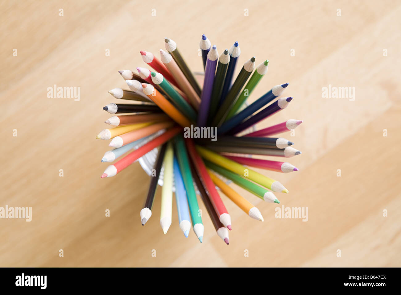 Coloured pencils - Stock Image