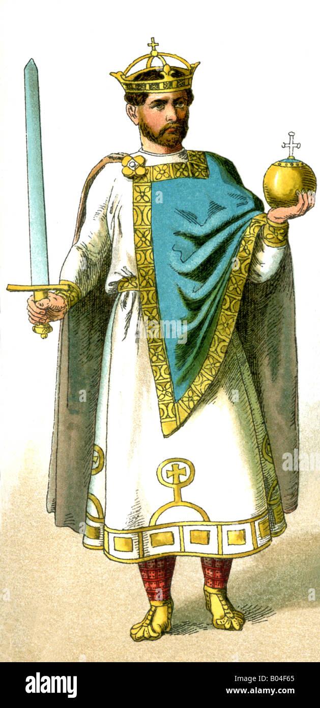 Henry II of Germany - Stock Image