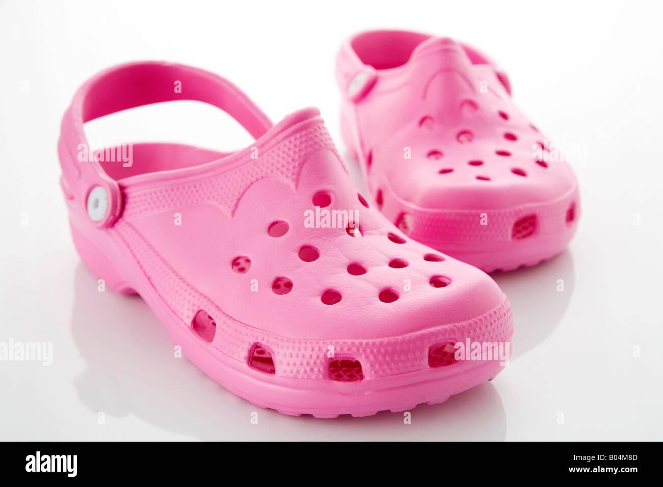 60001f546287 Pink Crocs Stock Photos   Pink Crocs Stock Images - Alamy