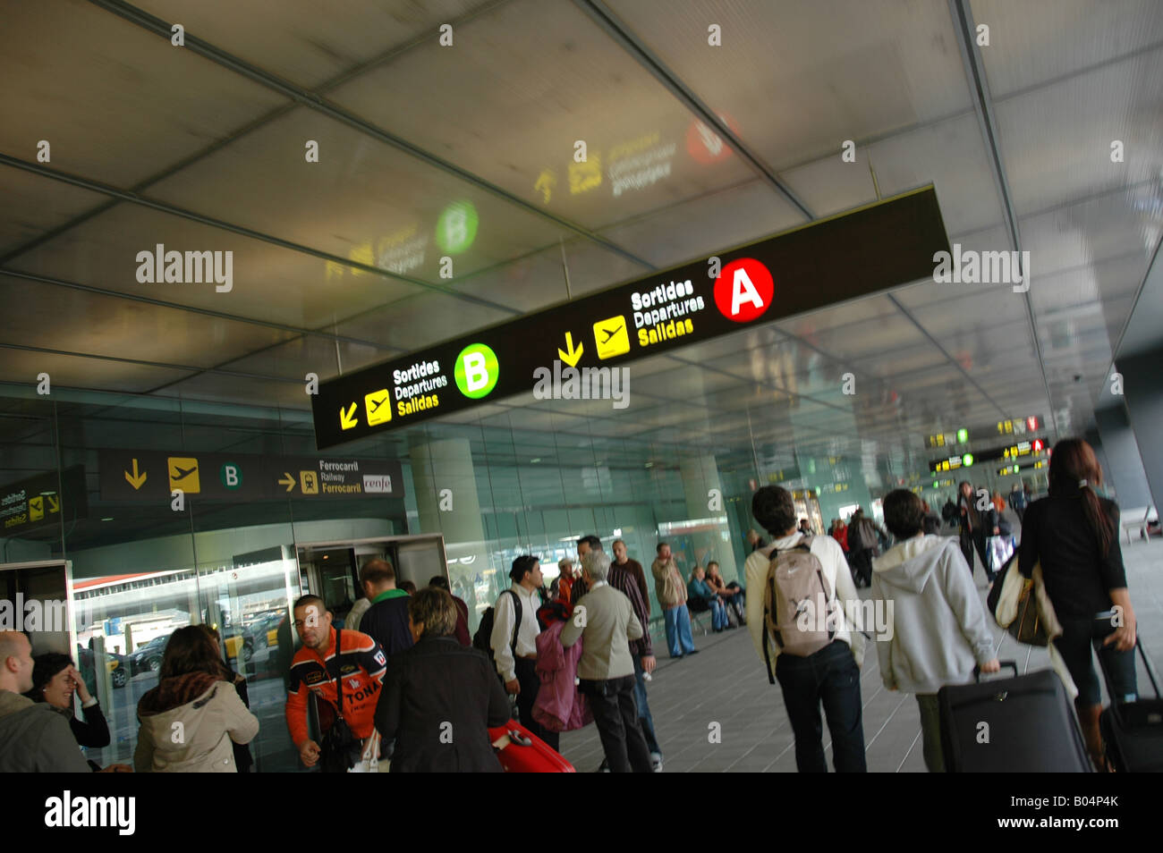 Flughafen airport aerodrome Reisen travel travelling traveling - Stock Image
