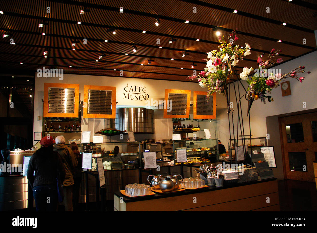 Museo Moma.Cafe Museo Is Attached To Moma The Museum Of Modern Art In Stock