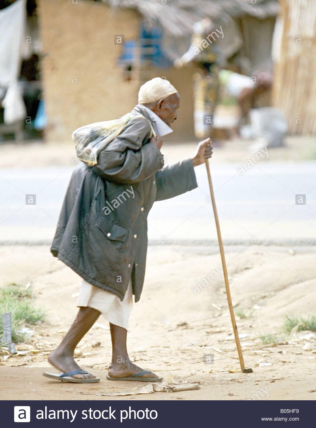 Tanzania African man Tanzanie Afrique de l'Est East Southern Africa - Stock Image