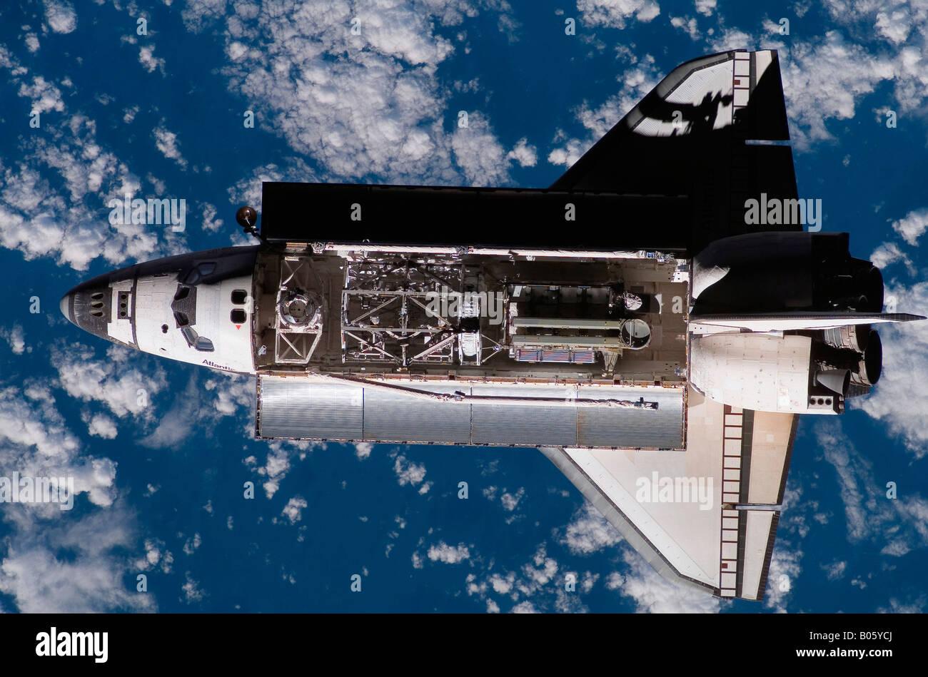 Space Shuttle Atlantis - Stock Image