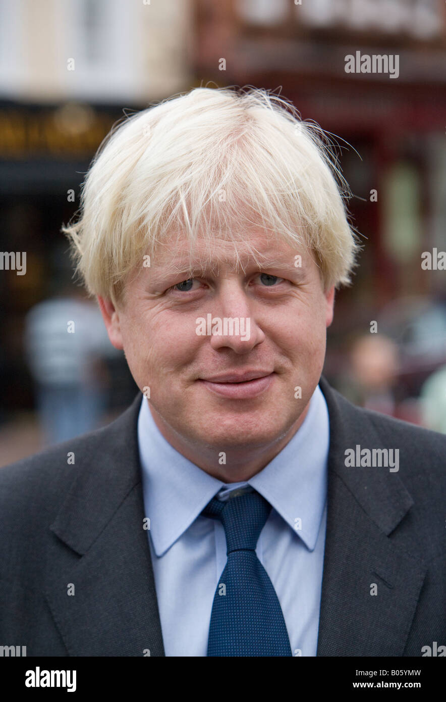 Boris Johnson, Mayor of London - Stock Image