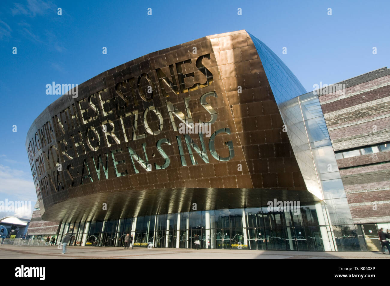 Wales Millenium Centre, Cardiff Bay Stock Photo