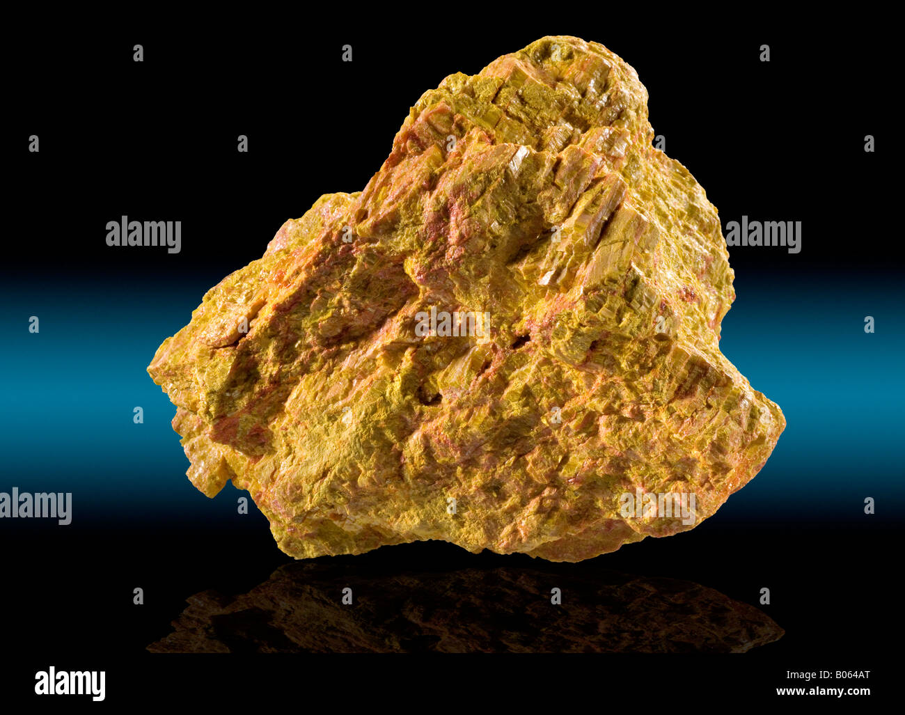Orpiment Getchell Mine Humboldt County Nevada - Stock Image