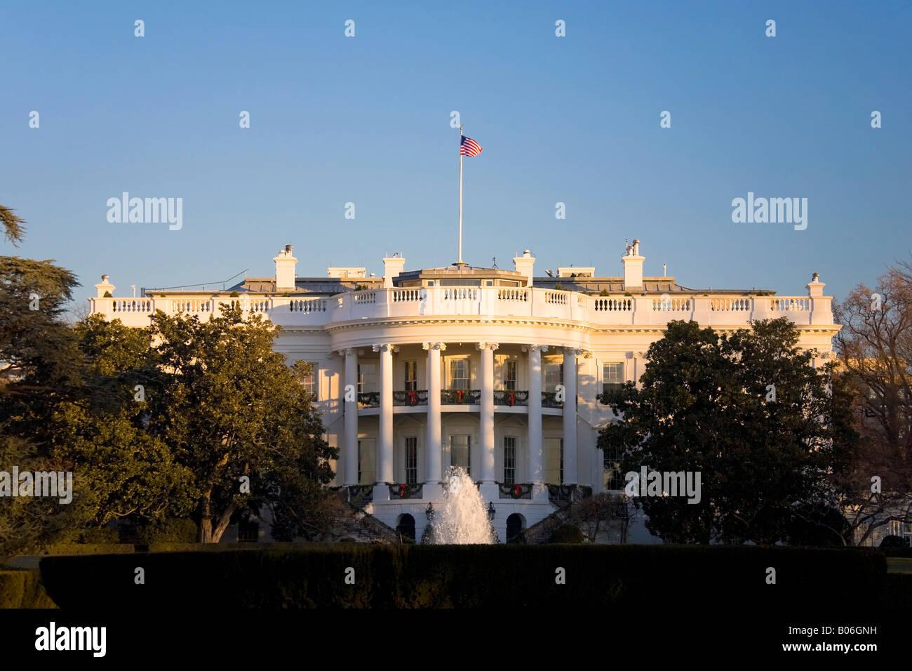 The White House, Washington DC, USA - Stock Image
