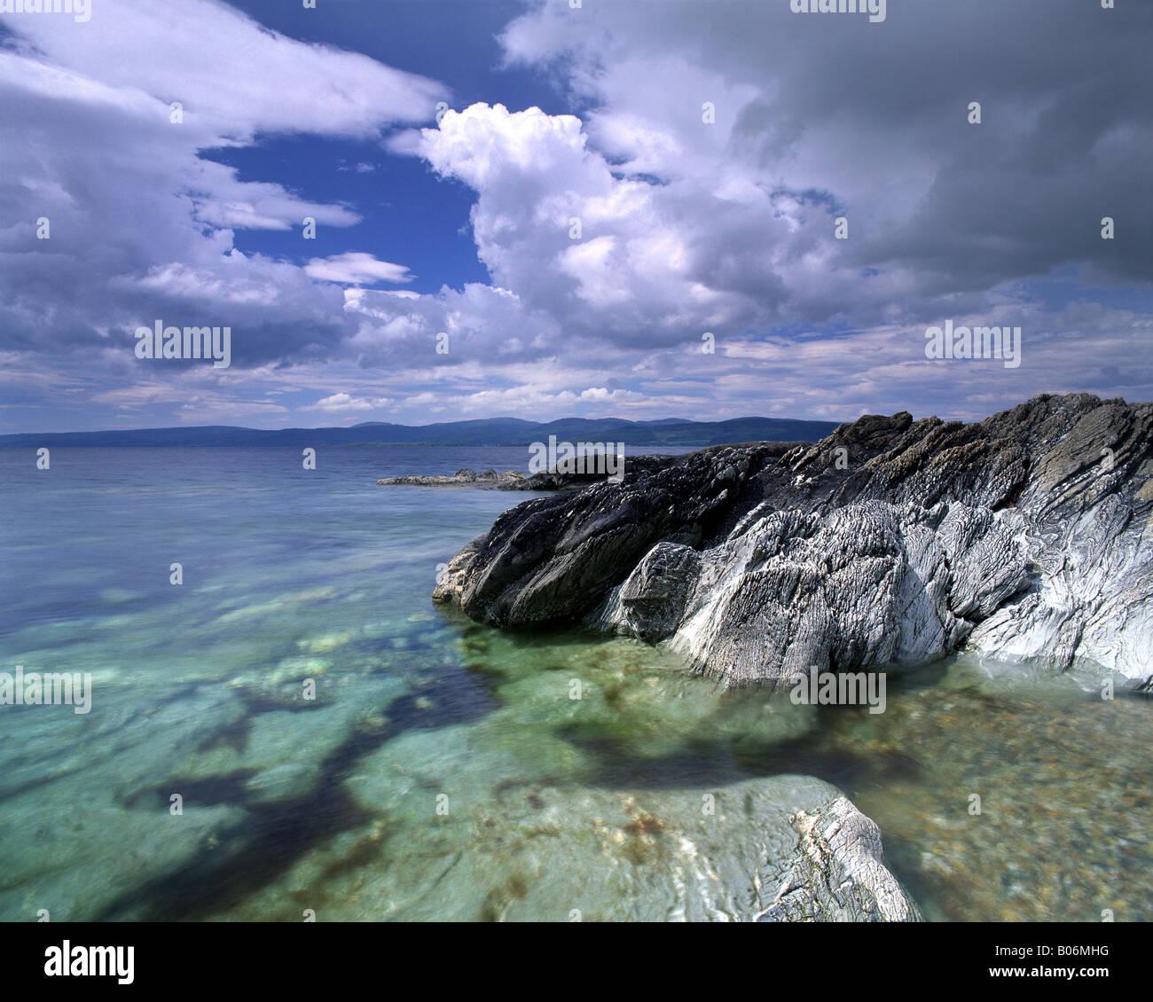 GB - SCOTLAND: Imachar Point on Isle of Arran - Stock Image