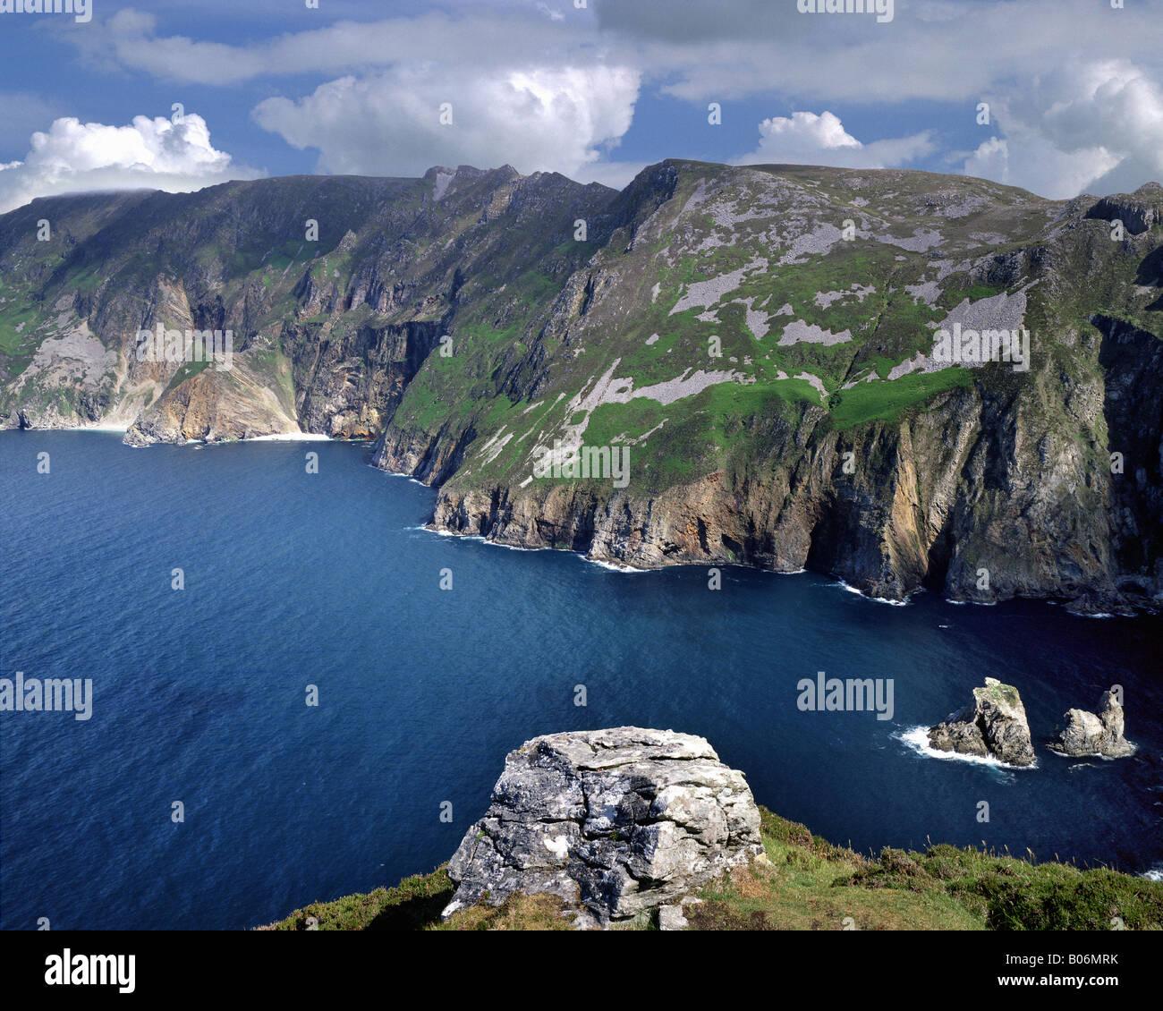 IE - CO.DONEGAL: Slieve League Cliffs - Stock Image