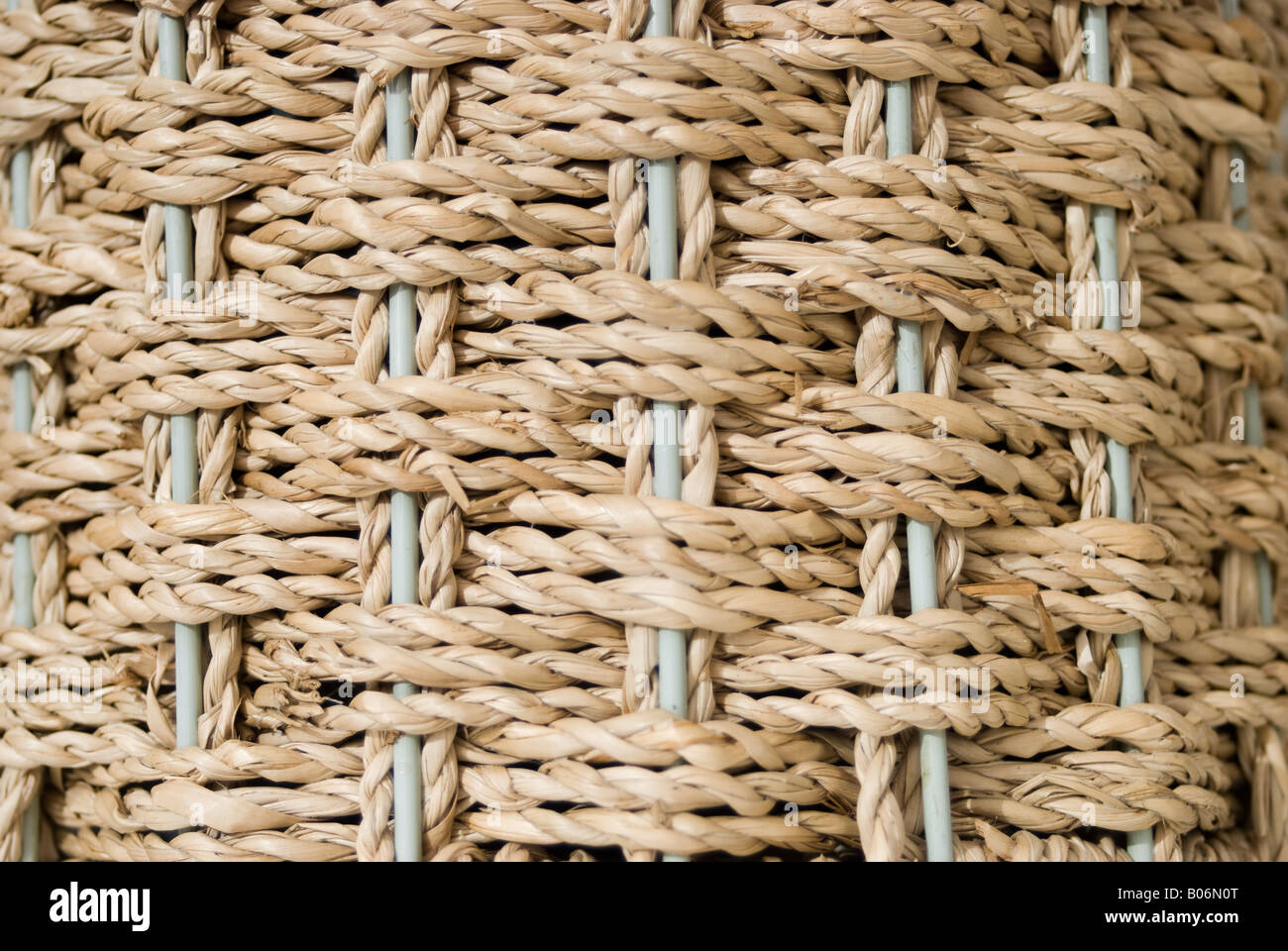 Woven Seagrass - Stock Image