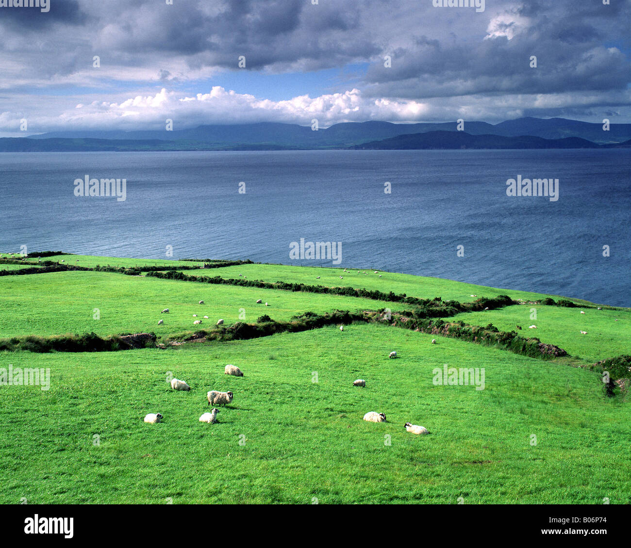 IE - CO.KERRY: Coastline along Ring of Kerry - Stock Image