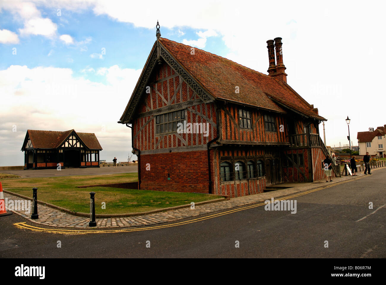 Moot Hall Stock Photo