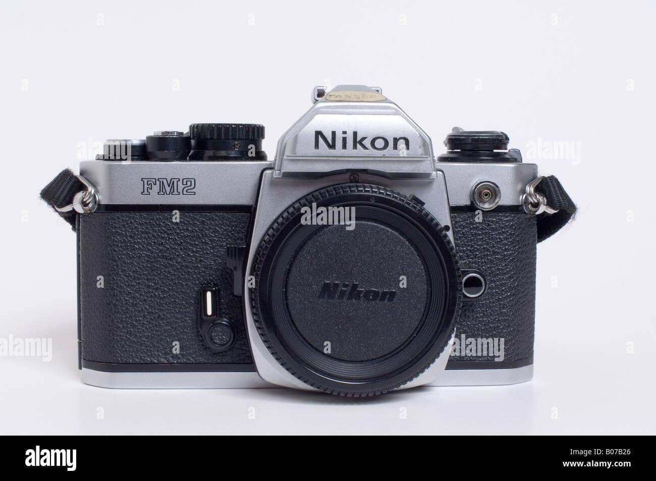 Nikon FM2 Slr 35mm Film Camera - Stock Image
