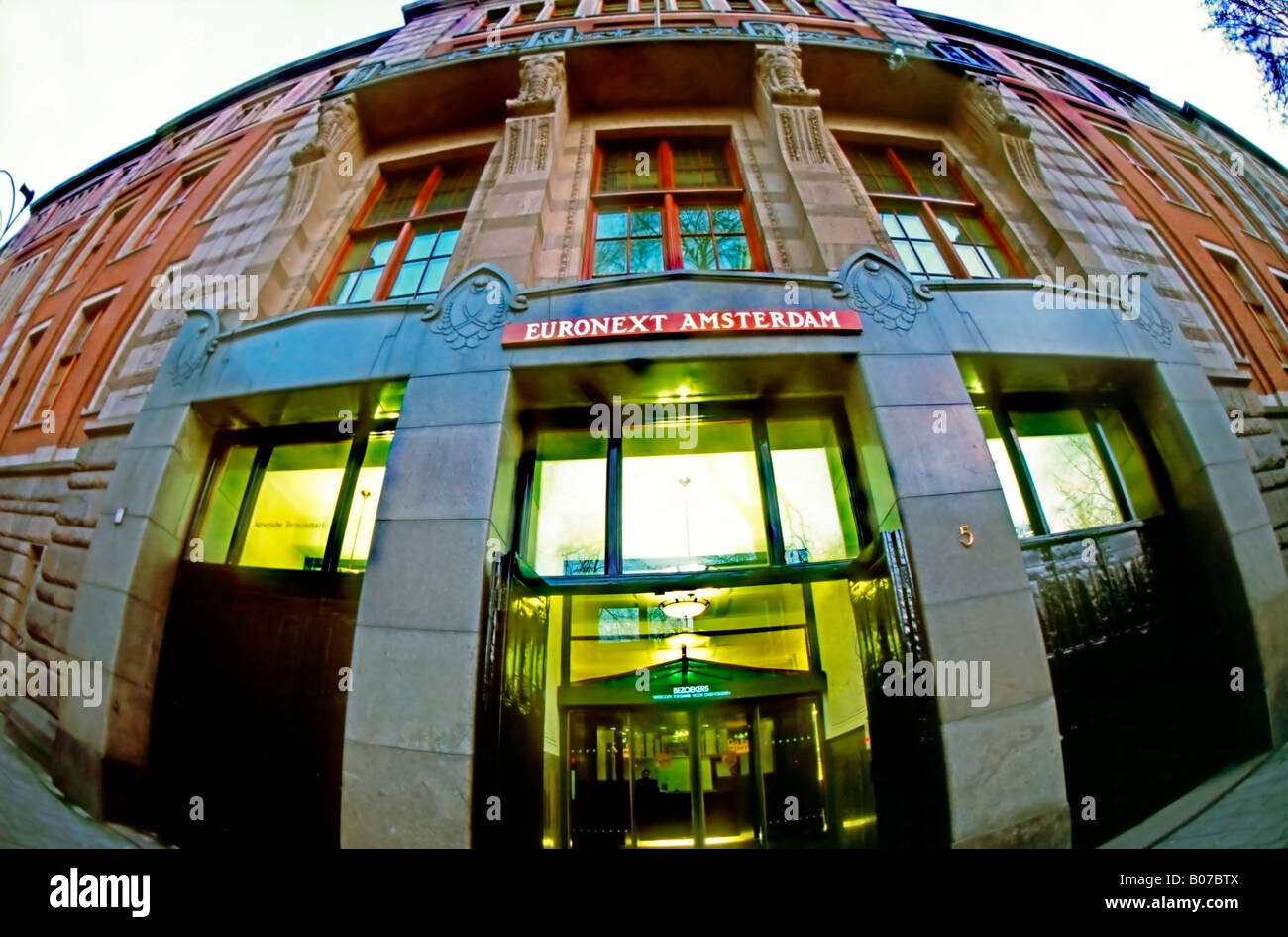 Amsterdam Netherlands Euronext Stock Stock Photos