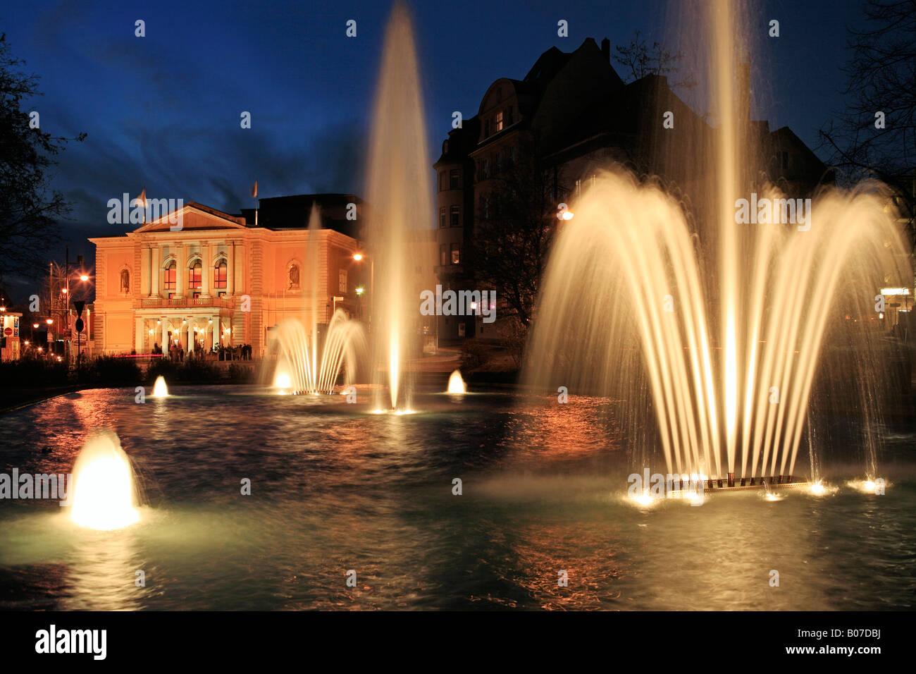 Opernhaus Halle (Saale), Germany - Stock Image
