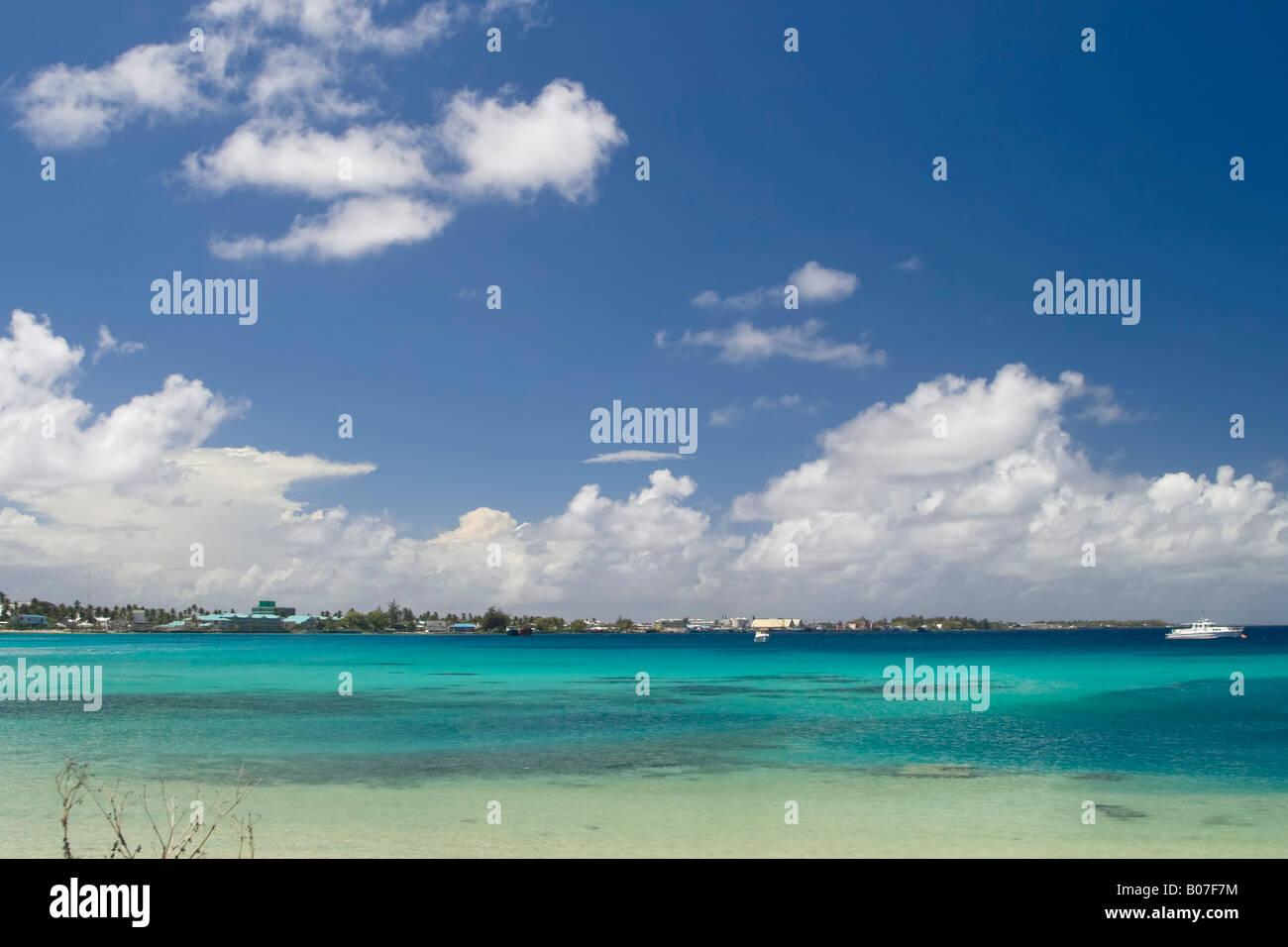 Majuro Lagoon, Marshall Islands - Stock Image