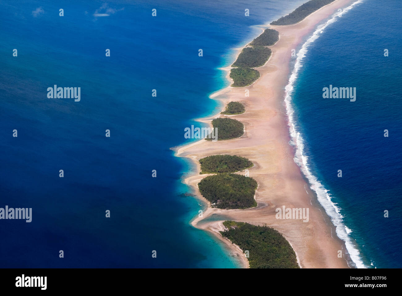 Jaluit Atoll Lagoon, Marshall Islands - Stock Image