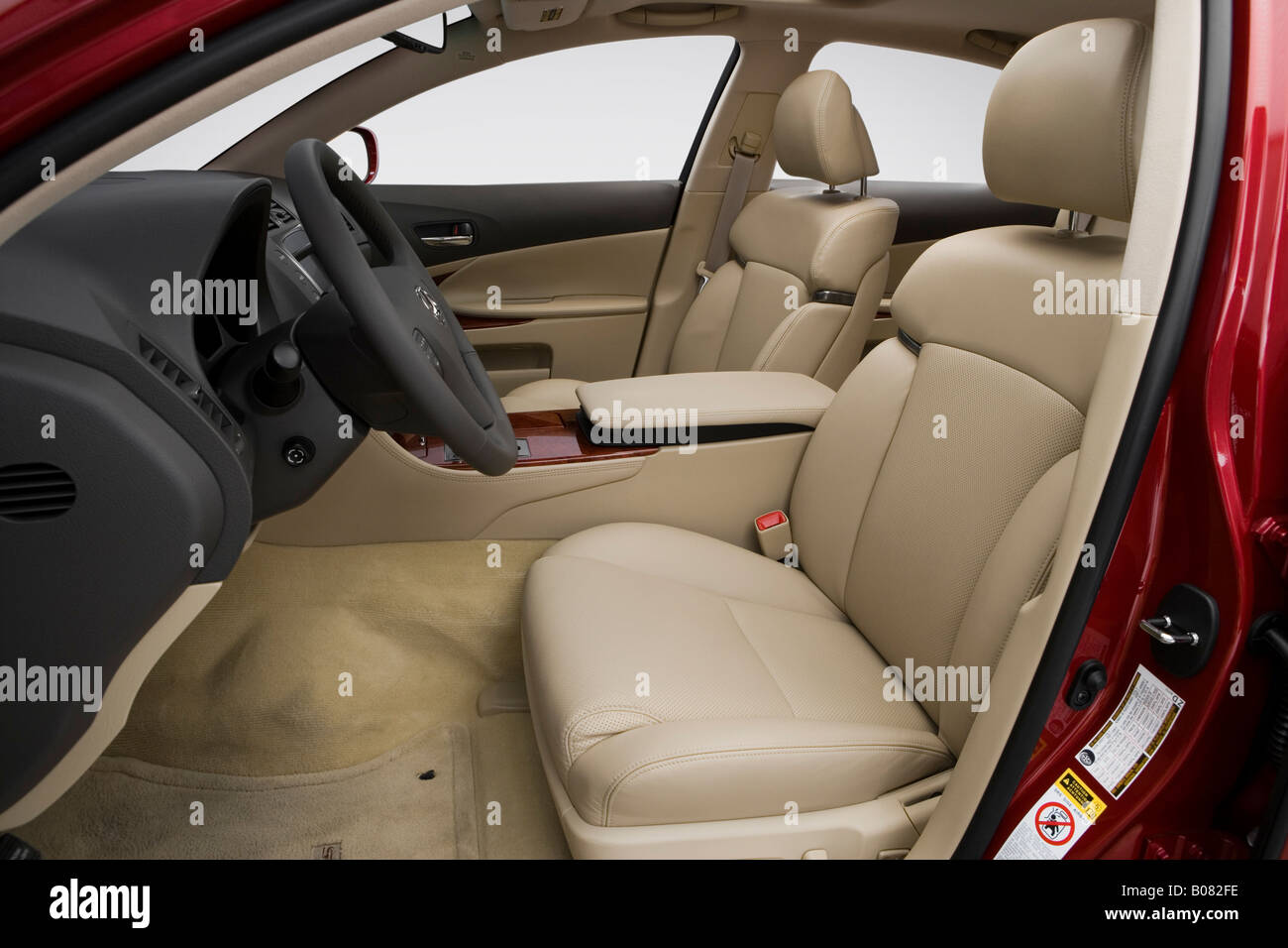2008 Lexus GS GS350 In Red   Front Seats