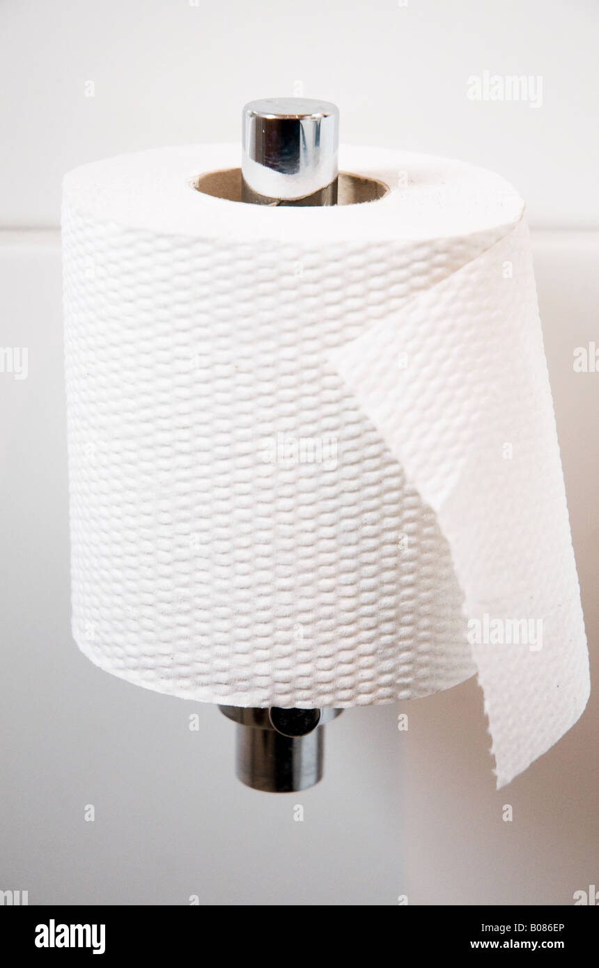 Loo paper ! - Stock Image
