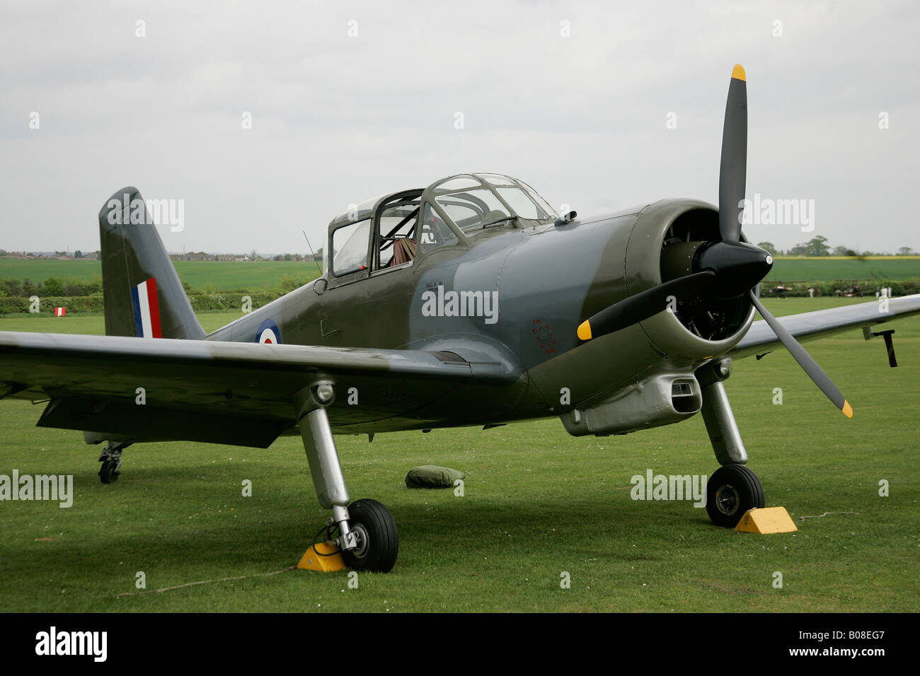 PERCIVAL PROVOST 1950'S RAF TRAINER AIRCRAFT - Stock Image