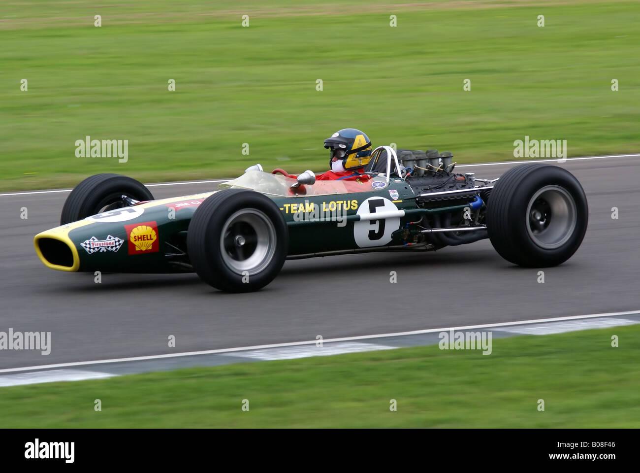 Classic Lotus Formula 1 Racing Car Stock Photo: 17397862 - Alamy
