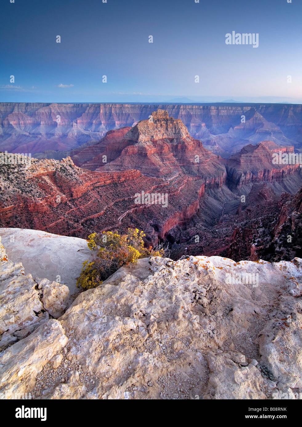 Cape Royal, North Rim, Grand Canyon National Park, Arizona, USA Stock Photo