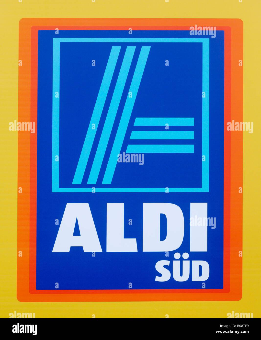 Logo for Aldi Sued (Aldi South) - Stock Image