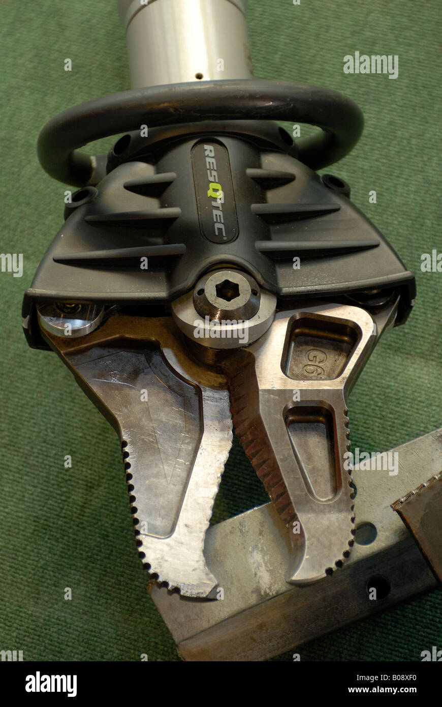 Jaws of life, hydraulic spreader, rescue tool Stock Photo