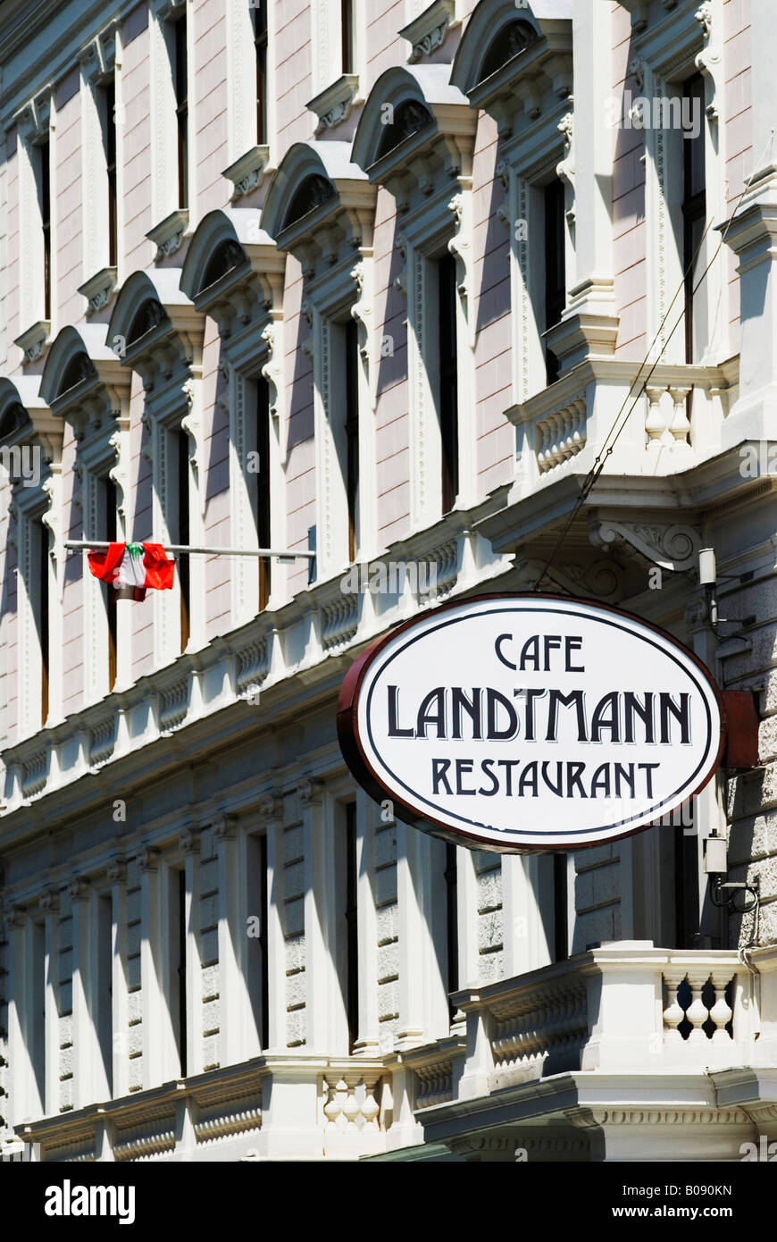 The Ring Vienna S Casual Luxury Hotel Vienna: Café Landtmann Stock Photos & Café Landtmann Stock Images