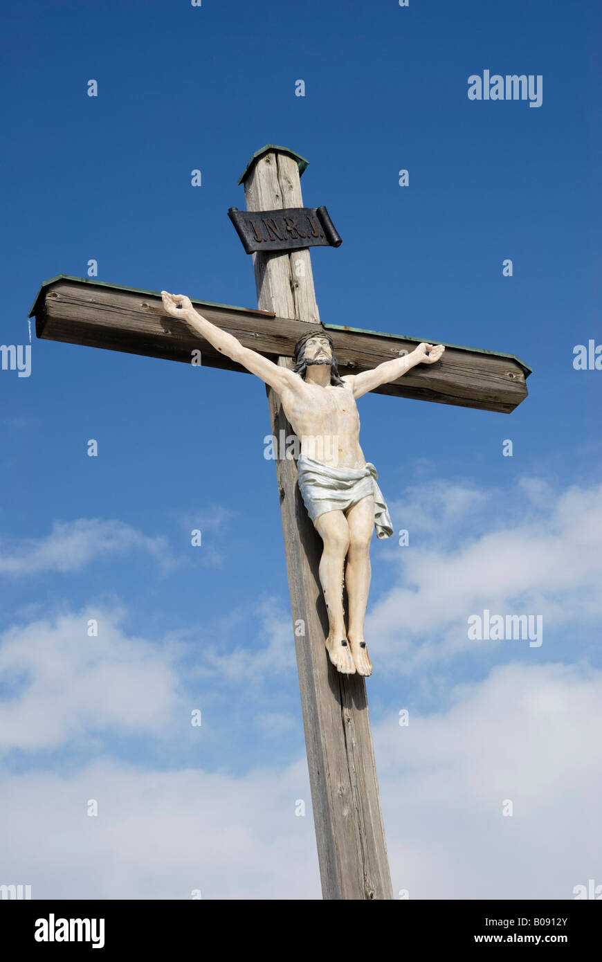jesus cross bavarian crosses stock photos jesus cross bavarian