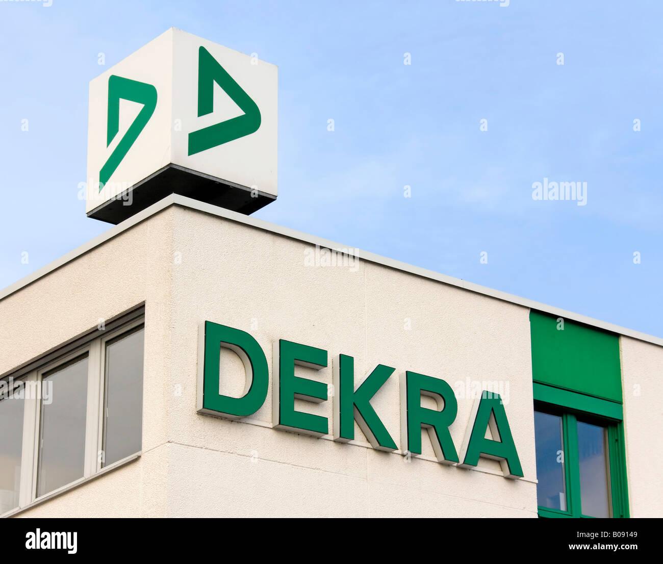 German Dekra Company logo - Stock Image