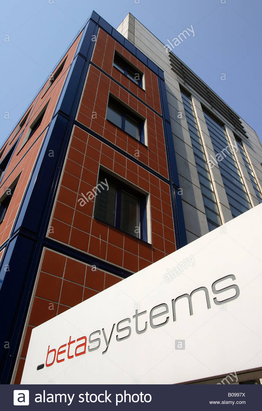 betasystems place of business in Berlin, Germany, Europe - Stock Image