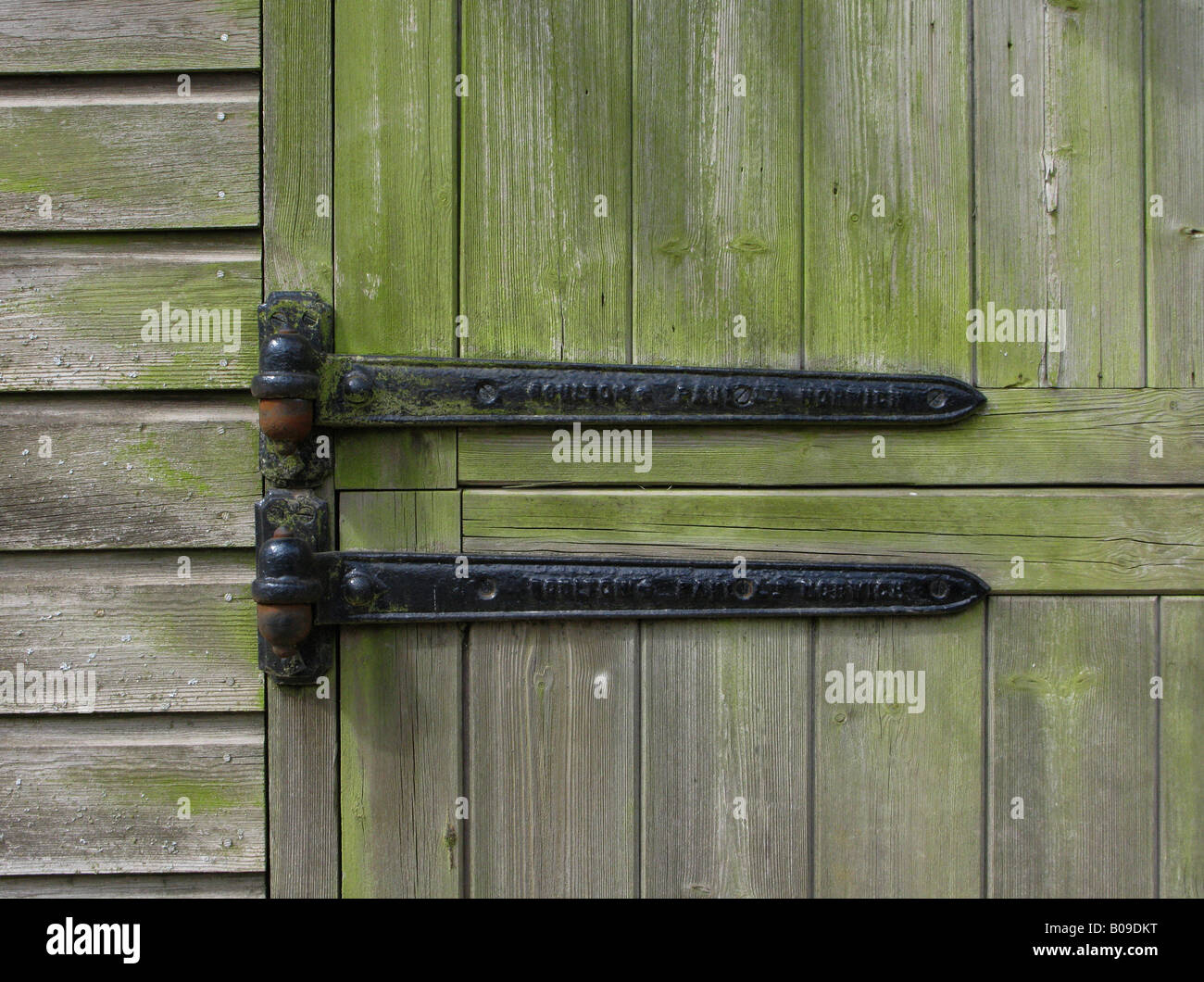Old Door Hinges Gloucestershire England