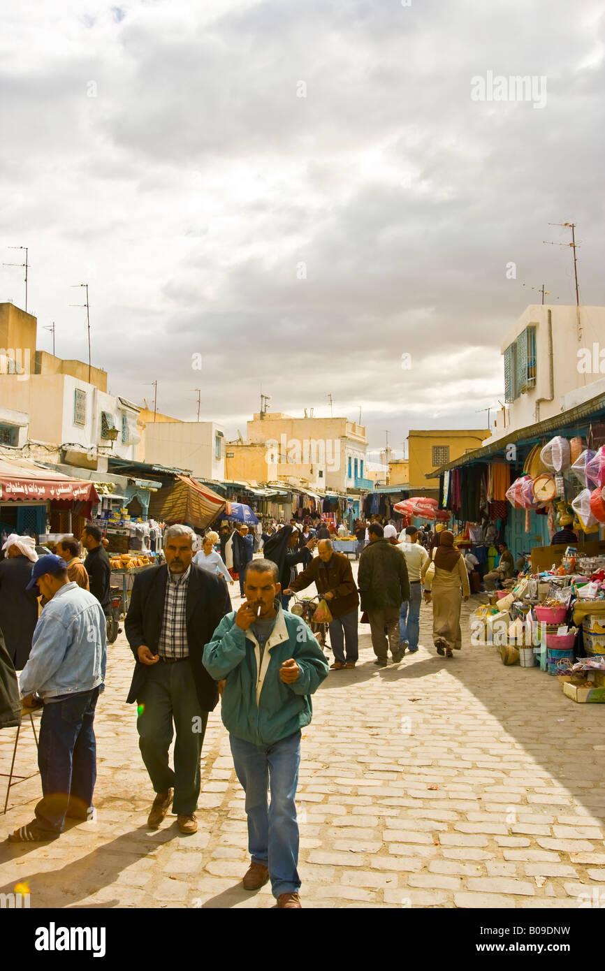 Medina Kairouan Tunesia - Stock Image